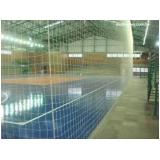redes de proteção para quadras em SP em Jandira