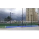 redes de proteção para quadras esportivas preço no Jardim Bom Clima