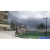 redes de proteção para quadras poliesportivas preço na Vila Romana