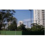rede de proteção para quadra de futebol
