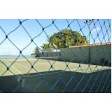 tela de proteção para campo de futebol na Cidade Vargas