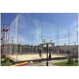 tela de proteção para quadra de tênis preço na Mooca