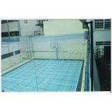 tela de proteção para quadra esportiva preço na Vila Sônia