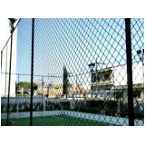 tela de proteção para quadra esportiva no Jardim Lusitânia