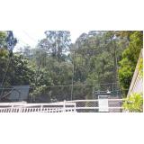tela de proteção para quadras na Cidade Tiradentes