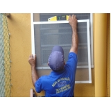 tela mosqueteira para janelas na Vila Dalila