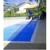 tela para proteção na piscina Água Funda