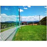 tela para quadra de futebol no Parque da Mooca