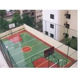 tela para quadras de esportes no Jardim Lusitânia