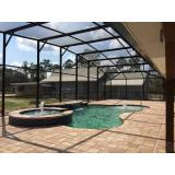 tela protetora de piscina residencial na Vila Anastácio