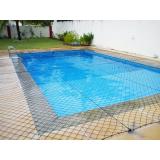 tela tipo proteção para piscina preço Sacomã