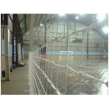 telas de nylon para quadra esportiva na Vila Facchini