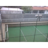 telas de proteção para campo de futebol na Vila do Encontro