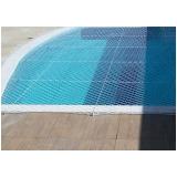 tela de proteção em piscina
