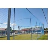 telas de proteção para quadra de futebol em Belém