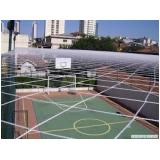 telas de proteção para quadra de futsal no Jardim Vila Rica