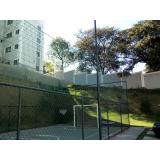 telas de proteção para quadra poliesportiva preço no Limão