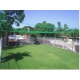 telas para quadra de tênis no Parque da Mooca
