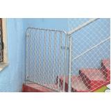 venda e instalação de telas de proteção preço em Alphaville